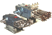 Large Frame Industrial-Duty Piston Pumps